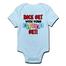 Rock Out With Blocks Out Infant Bodysuit