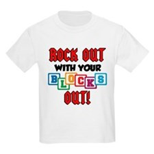 Rock Out With Blocks Out T-Shirt