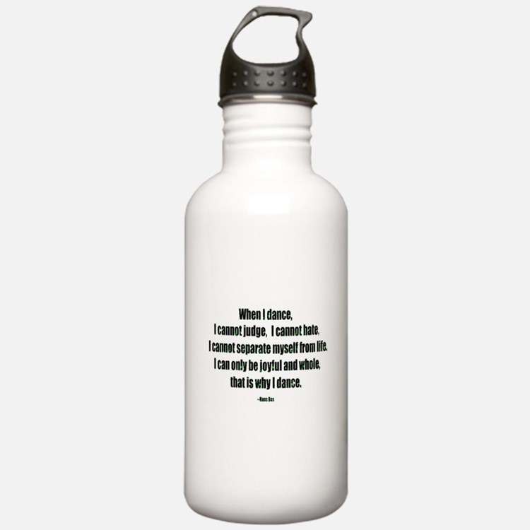 Why I Dance Water Bottle