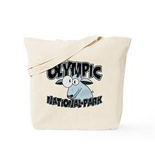 Olympic Natl Park Mountain Goat Tote Bag