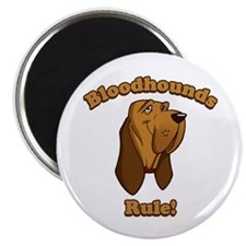 Bloodhounds Rule! Magnet
