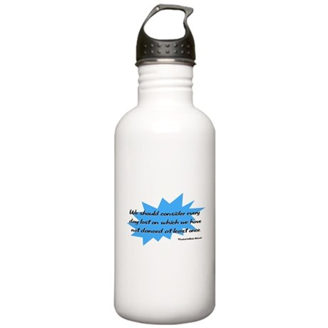 Day Lost Without Dancing Stainless Water Bottle 1.