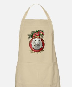 Christmas - Deck the Halls - Salukis Apron