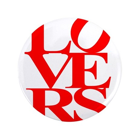 """LOVERS 3.5"""" Button"""