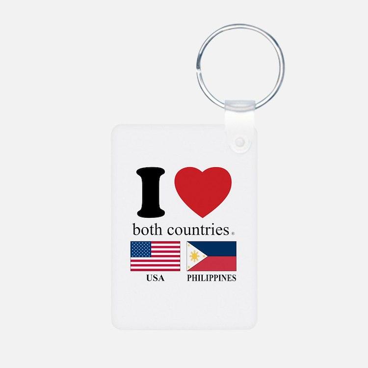 USA-PHILIPPINES Keychains
