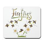 Whimsical Fireflies Mousepad