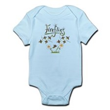 Whimsical Fireflies Infant Bodysuit