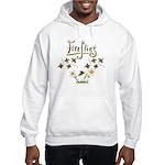 Whimsical Fireflies Hooded Sweatshirt