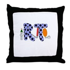 Respiratory Therapy 9 Throw Pillow