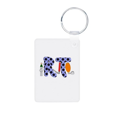 Respiratory Therapy 9 Aluminum Photo Keychain