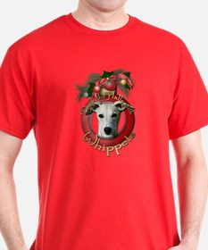Christmas - Deck the Halls - Whippets T-Shirt