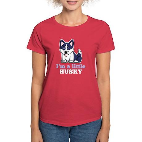 A Little Husky Women's Dark T-Shirt