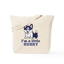 A Little Husky Tote Bag