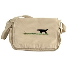 Gordon Setter in the Field II Messenger Bag