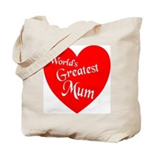 Funny World%27s greatest mom Tote Bag