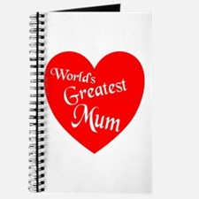 Cute World%27s greatest mom Journal