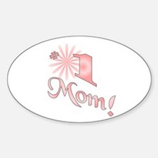 Number one mom Decal