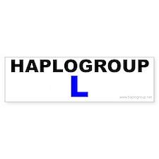 Haplogroup L Bumper Bumper Sticker