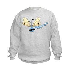 Cool Blue Dragonfly Sweatshirt