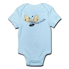Cool Blue Dragonfly Infant Bodysuit