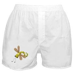 Adorable Green Dragonfly Boxer Shorts