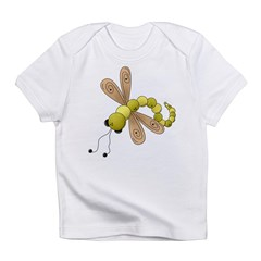 Adorable Green Dragonfly Infant T-Shirt