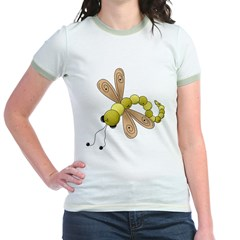 Adorable Green Dragonfly T