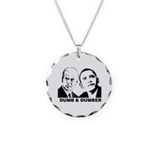 Cute Anti obama Necklace Circle Charm