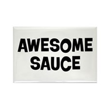 Awesome Sauce Rectangle Magnet