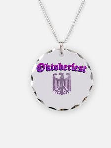 Oktoberfest German Deutsch W Necklace