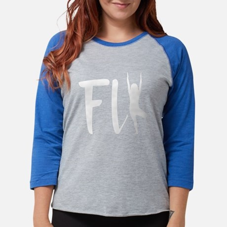 Fly Womens Baseball T-Shirt