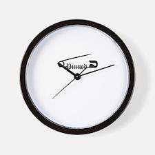Cool Wrestling pin Wall Clock