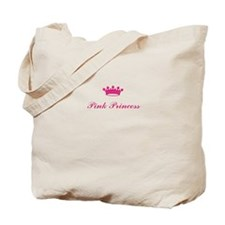 Cute Pink princess Tote Bag