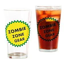 Zombie Zone Gear 2 Drinking Glass