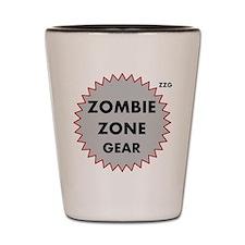 Zombie Zone Gear 3 Shot Glass