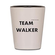 Zombie Team Walker Shot Glass