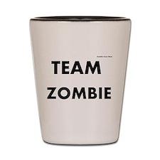 Zombie Team Zombie Shot Glass
