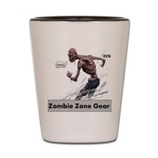 Zombie Zone Gear 4 Shot Glass