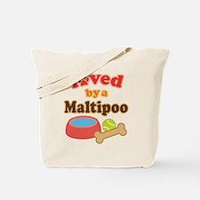 Maltipoo Dog Gift Tote Bag
