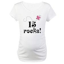 15th Birthday Butterfly Shirt