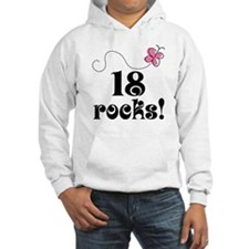 18th Birthday Butterfly Hoodie