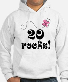20th Birthday Butterfly Hoodie