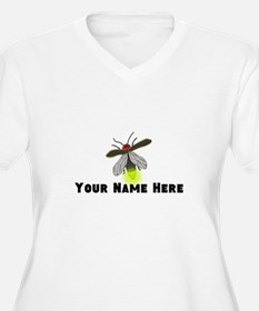 Lightning Bug Fun Plus Size T-Shirt