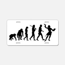 Evolution of Acting Aluminum License Plate