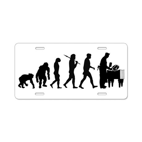 Butcher Evolution Aluminum License Plate