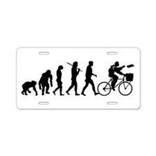 Newspaper delivery Aluminum License Plate