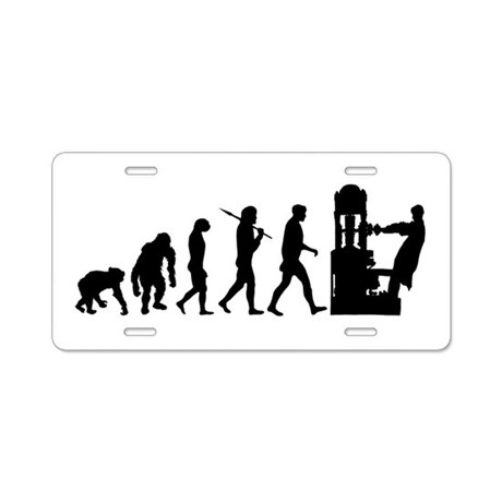 Printing Evolution Aluminum License Plate