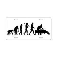 Oil Workers Aluminum License Plate