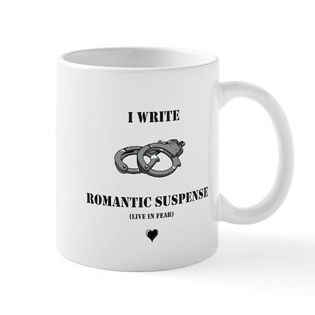 Romantic Suspense Writer Mug