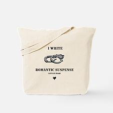 Romantic Suspense Writer Tote Bag